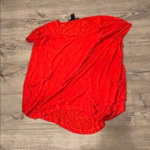 Orange Kenneth Cole Top Size SP